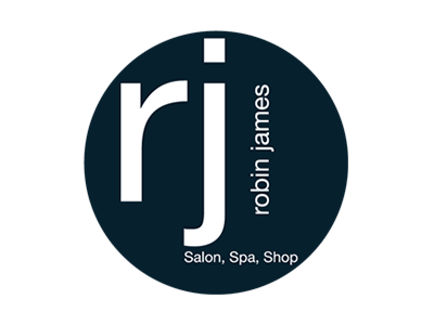 Robin James Salon, Spa, Shop Logo